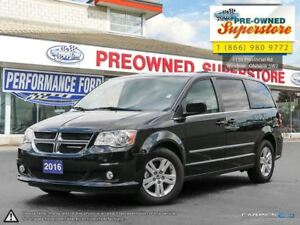 2016 Dodge Grand Caravan Crew Plus>>>leather, power sliders<<<