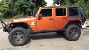 Toit pour Jeep wrangler
