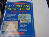 ALL IRELAND ROAD ATLAS AND ROUTE PLANNERS, 11 IN TOTAL