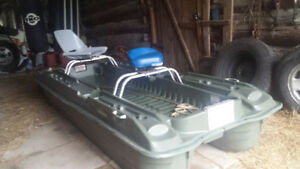 great portable fishing boat or duck blind