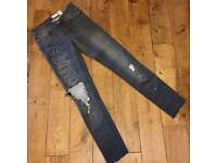 All Saints Skinny Jeans, W25""