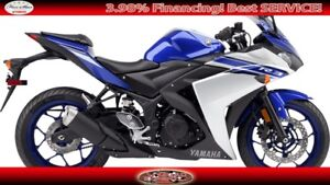 2016 Yamaha YZF R3 Motorcycle Reduced! Must Go!