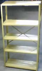 5-Tier Metal Shelf  (2 available) - like new