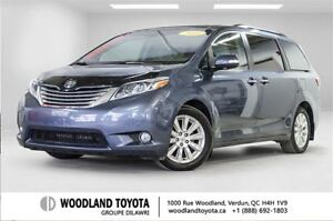 2015 Toyota Sienna XLE 7-Pass Mobility 6A - Braun
