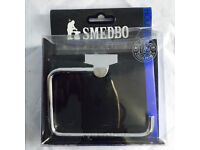 Brand new high spec rust free Smedbo house designer toilet roll holder - RK341, only £15, costs £65