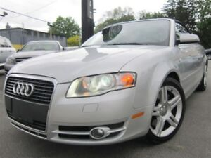 2007 Audi A4 2.0T CONVERTIBLE~QUATTRO~94KMS~AUTOMATIC,AWD !!!