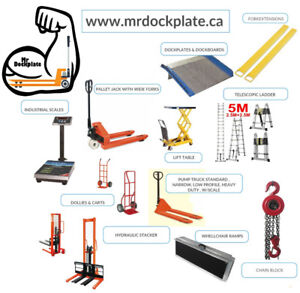 warehouse equipment and material handling product 519-639-6460