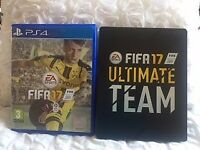 FOR SALE Boxed FIFA 17 Game on PS4 with ULTIMATE TEAM Special Edition Cover