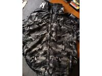 Size L Crosshatch Combat Rain Jacket with Lining