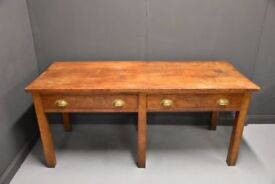 French Large Vintage Kitchen Dining Table....delivery possible