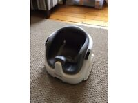 Ingenuity Baby Base 2-in-1 Booster Seat, Slate Grey