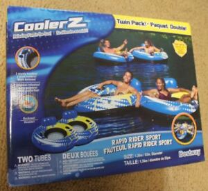 COOLER Z twin pack floaters (new in box)