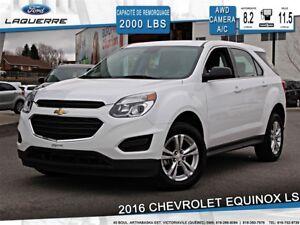2016 Chevrolet Equinox LS*AWD*CAMERA*CRUISE*A/C* SIÈGES ELECTRIQ