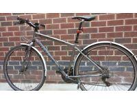 "Bike Claud Butler Urban 200 men hybrid 18"" frame good conditions"