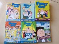 Family Guy Seasons 1-5 and Season 9
