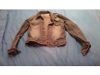 Ladies jean jacket