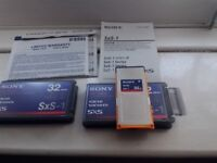 Sony memory card SxS 32 GB twin pack