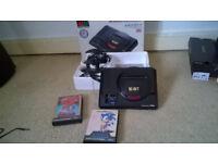 Sega Megadrive Asian PAL Boxed + Sonic 1 +2 £50