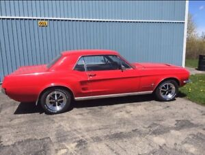 1967 Ford Mustang coup!