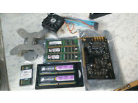 MEMORY AND PC PARTS