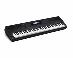 Casio WK6500 Keyboard (Steel pedestal included)