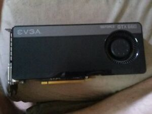 EVGA Geforce GTX 660. BARELY USED