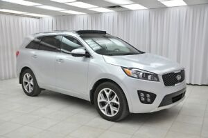 2016 Kia Sorento SX+ V6 AWD 7PASS SUV w/  NAV,LEATHER, LANE DEP,