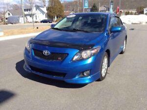 "2010 Toyota Corolla """"S MODEL""""...$77 B/W..POWER ROOF...SPORTY S"