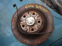 clio SPORT disc discs hub bearing