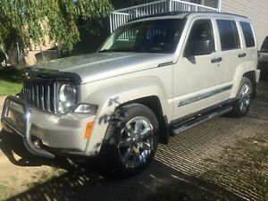 2008 Jeep Liberty limited skyslider