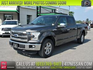 2015 Ford F-150 Lariat | Navi, Leather, Pano-Sunroof