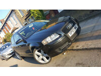 Black Audi A3 2007 1.9 tdi special edition diesel reverse camera cruise control 105k LOW Sat Nav