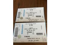 Zz top standing tickets 28th July 3 arena