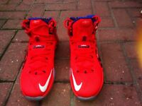 !!!LOOK!!! SIZE UK 8 Nike USA import LeBron XII '4th July Collection' limited edition