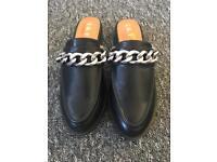 New leather slides (like Givenchy)