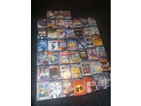 ps2 games bundle x 45