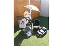 Silver Cross Surf + Car seat and Isofix