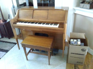 Vintage Small Player Piano