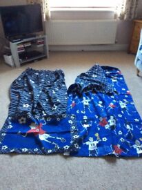 Football curtains and bed linen