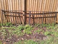 Steel Driveway Gates (wider than average 80x300cm)