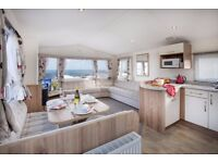 4 NIGHTS FOR THE PRICE OF 3!!!! - Beautiful luxury caravans/lodges with amazing sea views