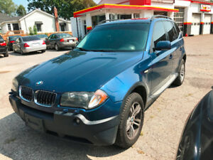 2005 BMW X3 3.0i AWD, Fully Loaded!! Leather!! Sunroof!! Certifi