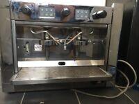 Brasilia coffee machine and grinder