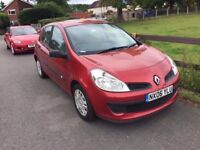 2006 Renault Clio 1,4 litre 5dr 10 months mot