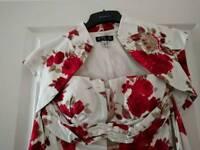 Designer After Six Evening Dress & Bolero (size 8)