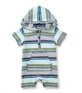 Tea Collection Sanur Hooded Romper