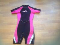 Osprey Wetsuit, Ladies wetsuit, Size 10-12