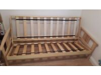 Solid wood 3 Seater Futon Sofa Bed