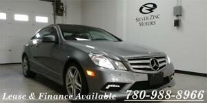 2011 Mercedes Benz E550 Coupe, only 16100km, like new!