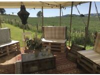 Palette Chairs - Great for outdoor events - Weddings
